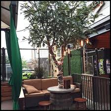 artificial trees silk outdoor faux tree decorating ideas