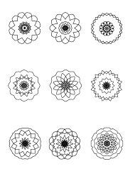 mandalas for coloring ilah u0027s blog about mandalas and art
