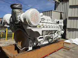 caterpillar 3516c hd 2682hp diesel marine engine item 14734