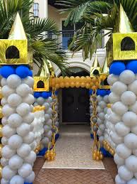 Columns For Party Decorations Dreamark Events Blog First Birthday Party Decorations Ideas
