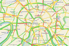 traffic map maps of moscow traffic transport and tips