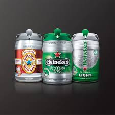 amstel light mini keg amazon com krups and heineken b100 beertender with heineken draught
