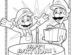 super mario bros coloring pagesfree coloring pages kids free