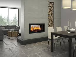 seeing double new see through fireplace range completehome
