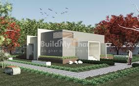 harvest 2 bhk home design plan