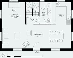 plan maison 4 chambre plan maison etage 4 chambres gratuit élégant plan maison 100m2 plein