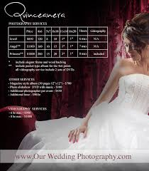 Wedding Photography Packages Los Angeles Quinceanera Photography Affordable Prices