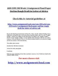 assignment letter formal letter assignment example formal letter