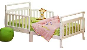 toddler sleigh bed black finish transitional kids beds by