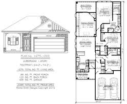 how many square feet is a 1 car garage 3 bedrooms under 1700 sq ft