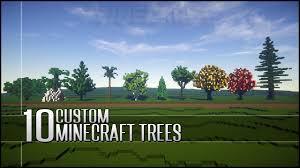 top 10 custom trees for builders in minecraft