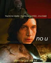 No U Meme - dopl3r com memes youre no vader youre just a child in a mask