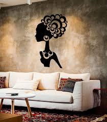 love and romantic wall vinyl decal wallstickers4you wall stickers vinyl decal hot sexy girl black african lady cool decor ig2271