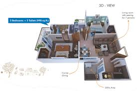 2300 sq ft 4 bhk 4t apartment for sale in rise projects organic