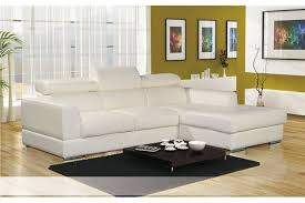 canapé d angle blanc cuir canapé angle cuir blanc intérieur déco