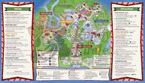 Printable Map Of Disney World by 2016 Mickey U0027s Very Merry Christmas Party Map Kennythepirate Com