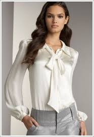 bow tie blouse bow tie blouse career office wear