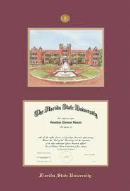 fsu diploma frame custom diploma frames certificate frames framing success fsu