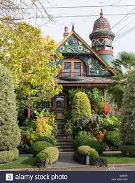 Queen Anne Victorian Victorian Houses In The Queen Anne Style Of Architecture Built