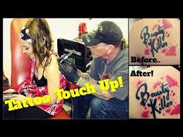 back tattoo touch up jeffree star tattoo youtube