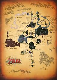 Wind Waker Map Twilight Princess Full Map By Zantaff On Deviantart