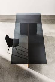 best 25 black glass dining table ideas on pinterest glass top rectangular wood and glass table regolo by sovetitalia