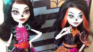 monster high skelita halloween costume monster high art class skelita calaveras doll review by