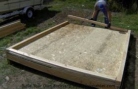 How To Build A Large Shed From Scratch by How To Build A Shed Storage Shed Building Instructions