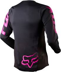 black motocross bike fox racing youth girls blackout jersey 2018 mx motocross dirt