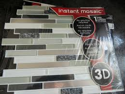 Best Peel And Stick Images On Pinterest Kitchen Stick Tiles - Lowes peel and stick backsplash