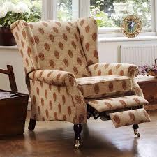 bedroom amusing stripped fleece wing chair recliner slipcover on