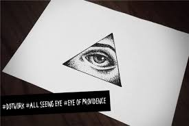 dotwork all seeing eye eye of providence youtube