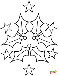christmas holly coloring pages getcoloringpages com