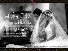 cheap wedding packages 31 cheap wedding packages in manila ideas