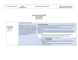 sbi4u homeostasis unit plan