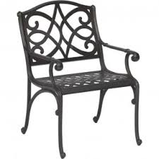 Garden Treasures Bistro Chair Aluminum Patio Dining Chairs Foter