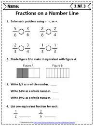 grade fractions worksheets 3rd grade math worksheets fractions