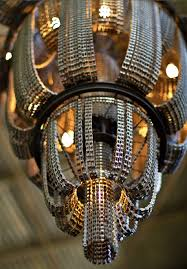 Chandelier Made From Plastic Bottles Chandeliers Made From Recycled Bike Chains By Facaro