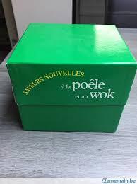 fiches cuisine coffret fiches cuisine saveurs nouvelles poêle et wok a vendre