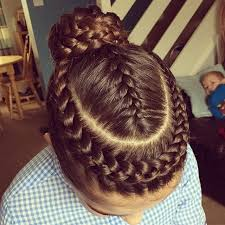 gymnastics picture hair style with all that braiding i m not sure i could ever do this on my