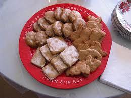cranberry tea time german christmas cookies