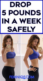 how to lose 5 pounds safely in one week femniqe