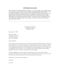 cold call letter of introduction for employment letter idea 2018
