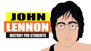 biography of john lennon in the beatles fun facts about john lennon from the beatles history for kids