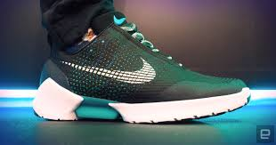 shoes that light up on the bottom nike a first look at nike s self lacing hyperadapt sneakers