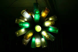 Wine Bottle Chandeliers Ideas Of How To Recycle Wine Bottles Wisely