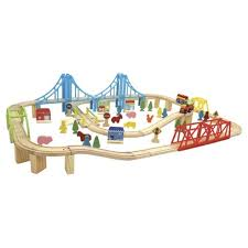 carousel train table set carousel super train and city set 100 pieces xmas present ideas