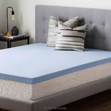 Foam Bed Topper Brookside 2 5 In Twin Xl Gel Infused Memory Foam Mattress Topper