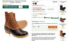 womens ll bean boots size 9 why are 100 000 on a waiting list to buy duck boots from