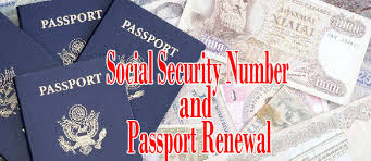 us passport application and social security number